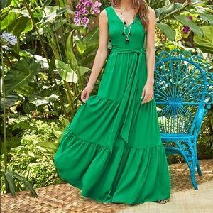 Lilly Pulitzer Maurine Maxi Dress Emerald Isle